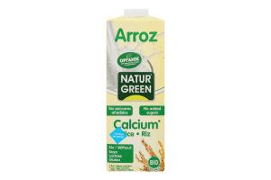 Молоко органическое из риса с водорослями NaturGreen т/п 1л
