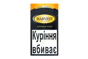 Сигари Harvest Superslim lc sweet vanilla 20шт