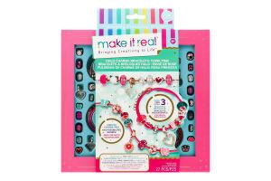 Набір для дітей від 8років для створення браслетів №MR1722 Рожеве сяйво Make It Real 1шт