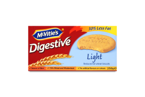 Печиво пшеничне зі зниженим вмістом жиру Light Digestive McVitie's к/у 250г