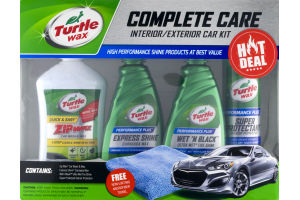 Turtle Wax Complete Care Interior / Exterior Car Kit