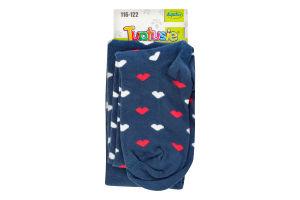 Колготки дитячі Tuptusie №0400 116-122 різнокольорові