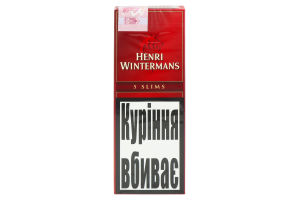 Сигари Slim.Panatela 5 Henri Wintermans