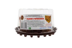 Торт Медовий з чорносливом Солодка хата п/у 450г