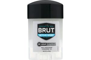 Brut Anti-Perspirant + Deodorant Gel Active Sport