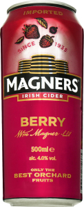 Сидр Magners Original ягідний ж/б 4,0% 0,5л х24