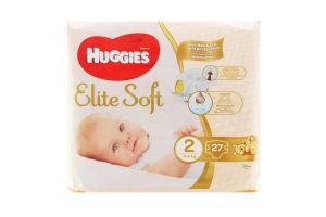 Підгузники дитячі 4-6кг Elite Soft Huggies 27шт