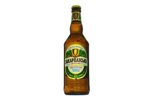 Пиво Закарпатське Оригінальне світле с/б 4,0% 0.5л х20