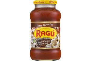 Ragu Super Chunky Mushroom Sauce