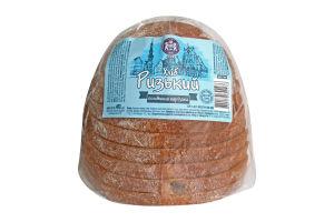 Хліб Кулиничі Ризький половинка нарізана 0,400г