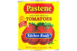Pastene Tomatoes Ground Peeled