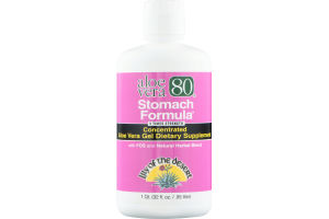 Lily Of The Desert Aloe Vera Gel Dietary Supplement Stomach Formula