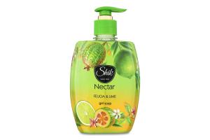 Гель-мыло жидкое Фейхоа и лайм Nectar Шик 300г