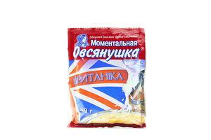 Каша Британика быстрого приготовления со сливками Овсянушка 40г