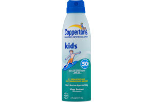 Coppertone Sunscreen Continuous Spray SPF 50