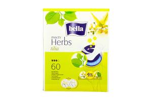 Прокладки щоденні Herbs Panty Tilia Bella 60шт