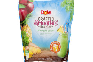 Dole Crafted Smoothie Blends Pineapple Ginger