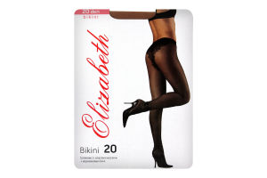 Колготки женские Elizabeth Bikini 20 visone р.3