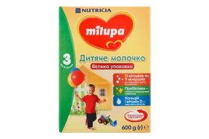 Смесь молочная сухая для детей от 12мес Детское молочко 3 Milupa к/у 600г