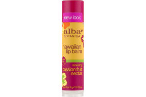 Alba Botanica Hawaiian Lip Balm Passion Fruit Nectar