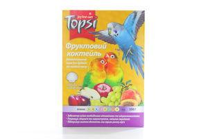 Корм витаминный для средних попугаев Просо Topsi 550г