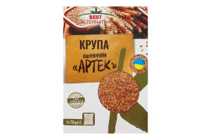Крупа пшенична в пакетиках Артек Best Alternativa к/у 4х70г