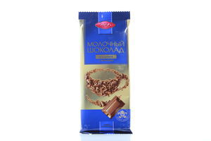 Шоколад молочный б/сахара с фруктозой АВК 90г