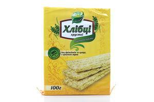 Хлібці Galleti пшенично-вівсяні 100г х32