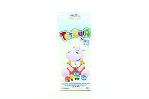 Молоко 3.2% для детей от 9мес ультрапастеризованное Детское Тотоша т/п 200г