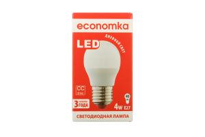 Лампа світлодіодна Economka LED G45 4W E27 4200K 1шт