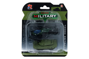Игрушка военная техника вертолет+танк JM522-2C