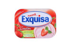 Сир Exquisa Вершковий полуничний 52% 200г Німеччина