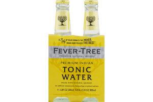 Fever-Tree Premium Natural Mixers Indian Tonic Water - 4 CT