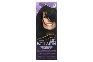 Крем-краска для волос Wellaton Чёрный №2/0 Wella