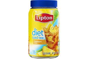 Lipton Diet Iced Tea Mix Lemon