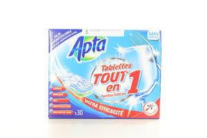 Таблетки для посудомоющих машин Аpta 30шт