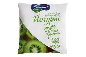 Йогурт 1.6% Ківі Гармонія м/у 400г