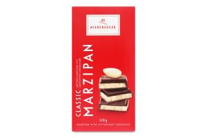 Шоколад темний з марципаном Niederegger к/у 110г