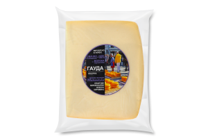 Сир 45% твердий Гауда класична Makovetska сироварня кг