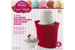 Rival Ice Cream Yogurt and Sorbet Maker