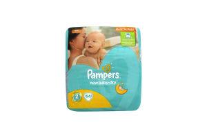 Подгузники детские 3-6кг New baby-dry Pampers 94шт