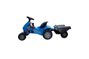 Іграшка для дітей від 3років з напівпричепом №84651 Каталка-трактор Turbo-2 Polesie 1шт