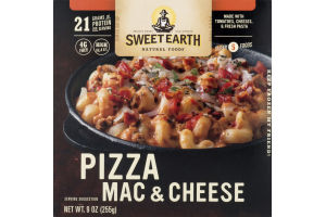 Sweet Earth Natural Foods Pizza Mac & Cheese