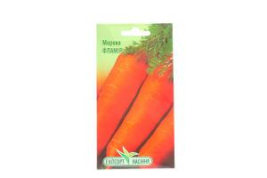 Семена Елітсорт насіння Морковь Фламир