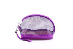 Косметичка прозрачная фиолетовый SKY 1шт