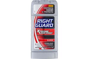 Right Guard Xtreme Odor Combat Invisible Solid Antiperspirant & Deodorant Surge