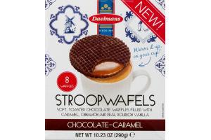 Daelmans Stroopwafels Chocolate-Caramel - 8 CT