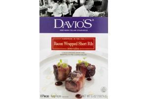 Davio's Bacon Wrapped Short Rib - 8 PC