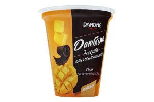 Десерт 6% кисломолочный Манго-черный шоколад Даніссімо ст 280г