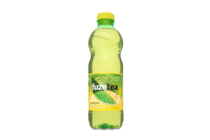 Напій безалкогольний негазований Зелений чай зі смаком лимона і лайма Fuzetea п/пл 1л